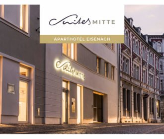 Suites Mitte – Corporate Design – Apart-Hotel Eisenach